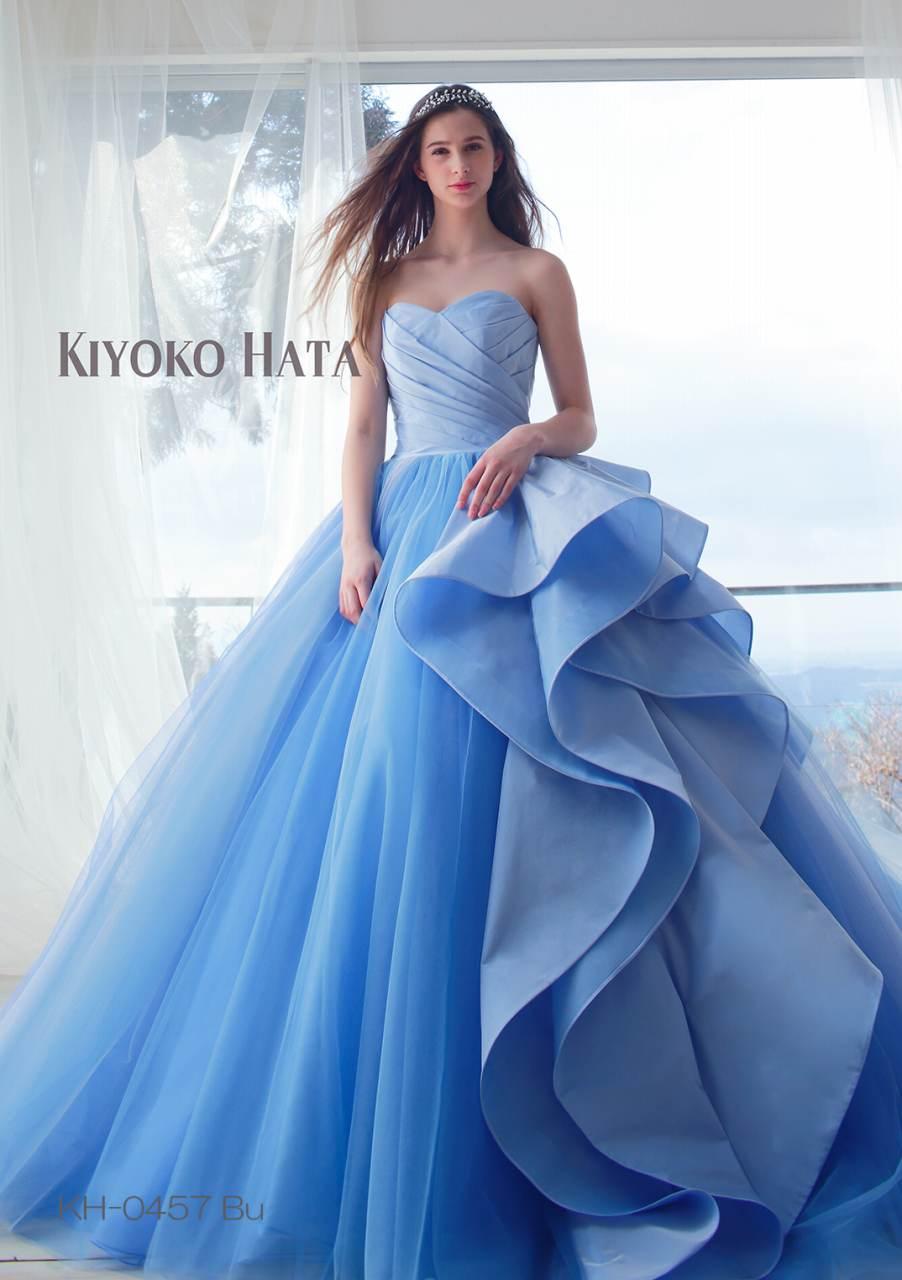6275cd3dc1da5 品番KH-0457Bu 「キヨコハタ」 カラードレス 7 ...